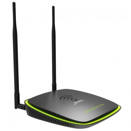 تصویر مودم ای دی اس ال تندا DH301 Tenda DH301 Wireless N300 ADSL 2+ High Power Modem Router