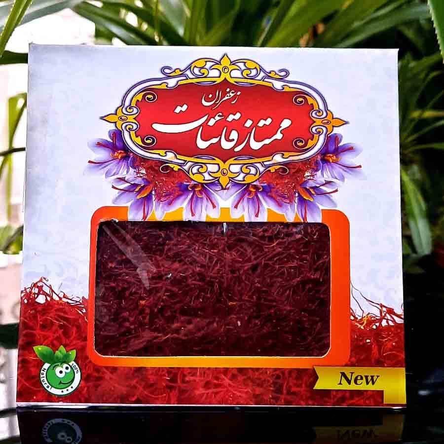 تصویر زعفران یک مثقالی سرگل ممتاز قائنات
