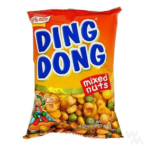 تصویر آجیل هندی دینگ دونگ ding dong مدل مخلوط
