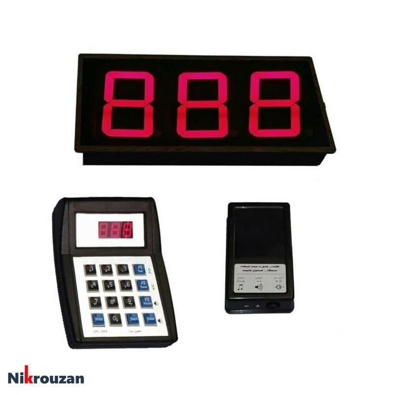 تصویر دستگاه فراخوان مشتری اسکار مدل OSCAR RF5001