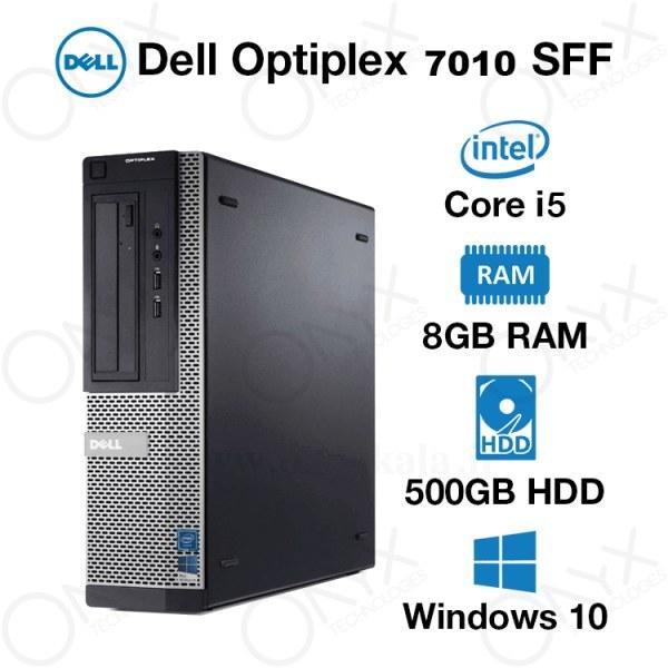 تصویر کامپیوتر دسکتاپ دل مدل OptiPlex 7010 با پردازنده i5 OptiPlex 7010