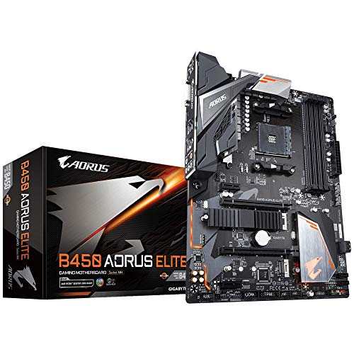 مادربرد گیگابایت B450 Aorus Elite AMD B450 AMD - Ryzen، M.2، ATX، RGB