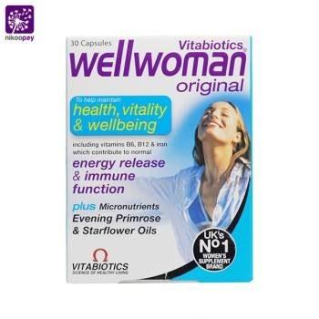image قرص ول ومن اورجینال ویتابیوتیکس Vitabiotics Well Woman Original Conception