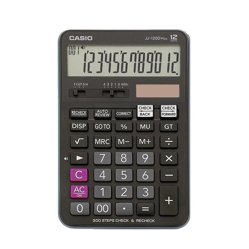 تصویر ماشین حساب مدل JJ-120D Plus کاسیو Casio JJ-120D Plus Calculator