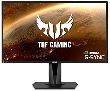 تصویر نمایشگر ایسوس مدل TUF Gaming VG27BQ سایز 27 اینچ ASUS TUF Gaming VG27BQ Monitor 27 Inch