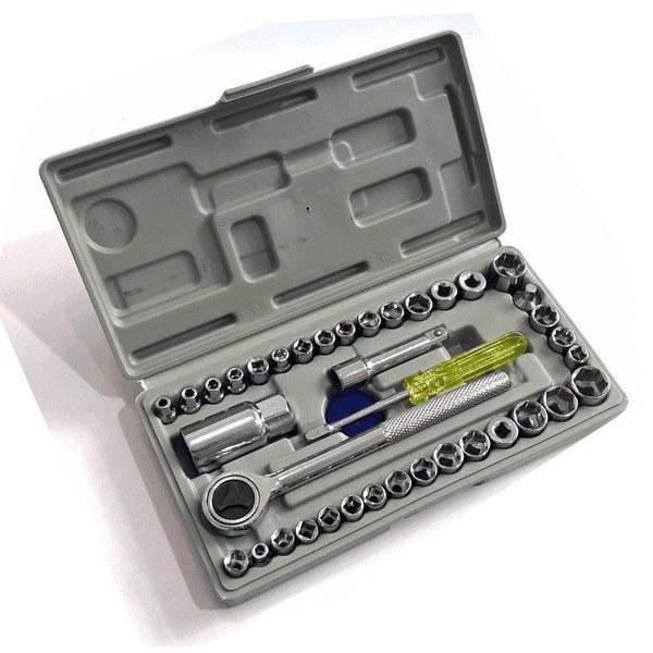 تصویر جعبه بکس 40 پارچه باس مدل BS-40pcs