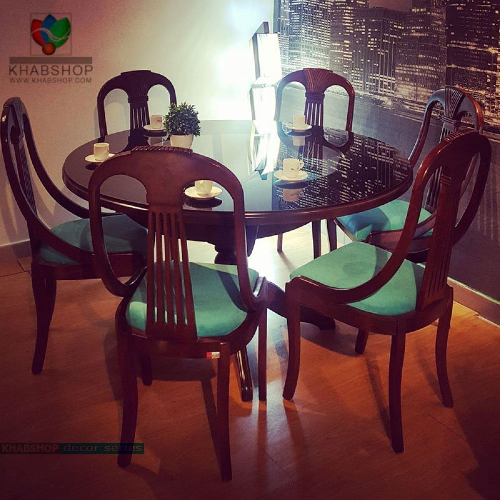 صندلی ناهارخوری چوبی کد 1375