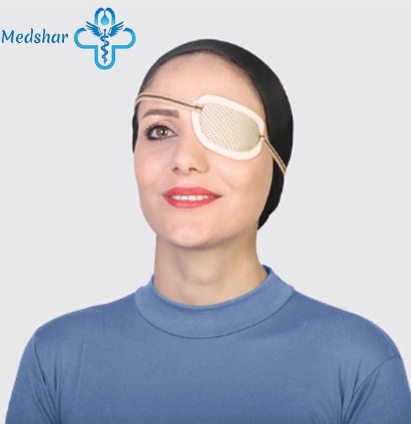 تصویر چشم بند یکطرفه بزرگسال طب و صنعت 87400