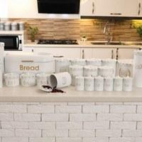 تصویر سرویس آشپزخانه 32 پارچه کلاسیک سفید