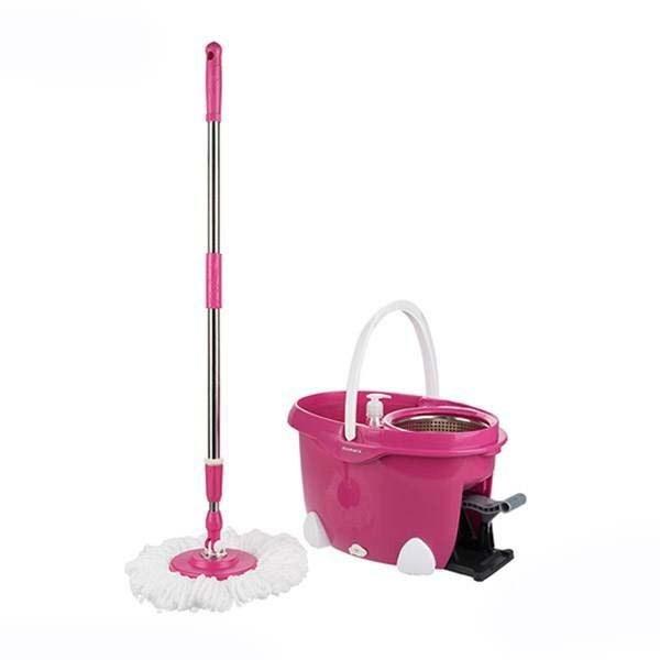 سطل و زمین شوی همارا مدل پدالی Rotating Bucket