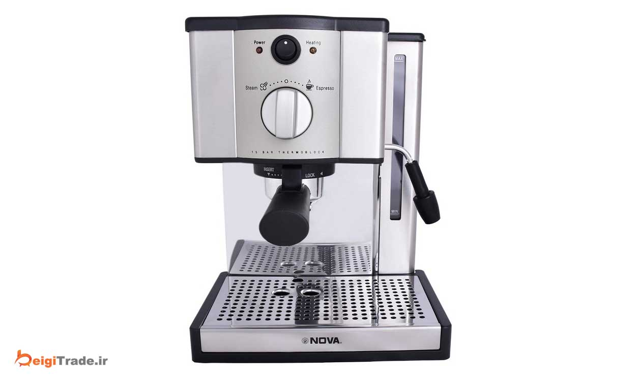 عکس اسپرسوساز نوامدل NOVA 139 NOVA 139 Espresso Maker اسپرسوساز-نوامدل-nova-139