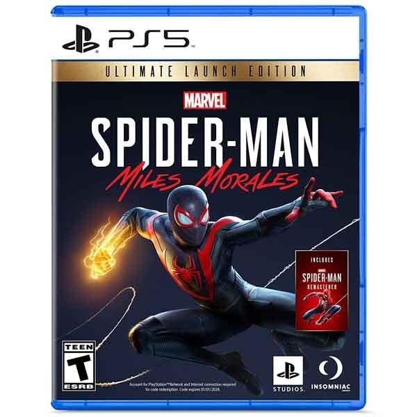 دیسک بازی Spider Man Miles Morales برای PS5