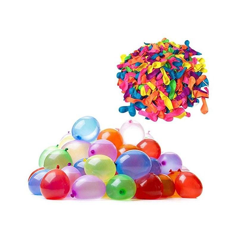 تصویر بادکنک آبی مدل Water Balloons بسته ۱۱۱ عددی
