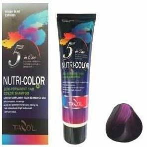 شامپو رنگ مو تزول مدل Nutri Color  شماره 64 حجم 150 میلی لیتر رنگ ماهگونی |