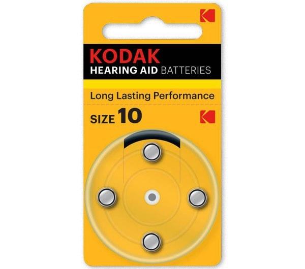 عکس باتری سمعک کداک مدل 10 بسته 4 عددی kodak 10 Hearing Aid battery باتری-سمعک-کداک-مدل-10-بسته-4-عددی