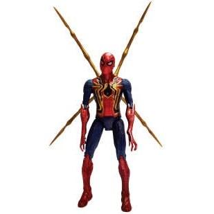 اکشن فیگور طرح مرد عنکبوتی مدل iron spiderman |