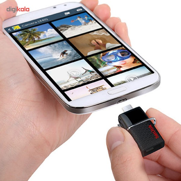 تصویر فلش سن دیسک Ultra Dual Usb 3.0 ظرفیت 32 گیگابایت SanDisk Ultra Dual USB Drive 3.0