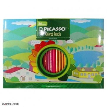 مداد رنگی 36 رنگ پیکاسو Picasso 36 Color Pencil | Picasso 36 Color Pencil