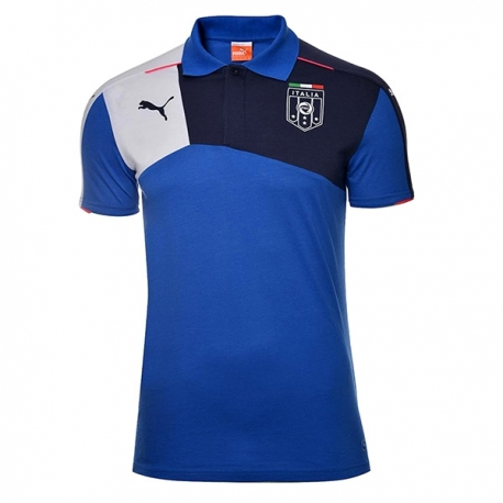 پلو شرت مردانه پوما فیگک ایتالیا Puma Figc Italia Stadium Polo Team 74700001