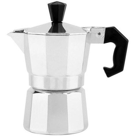 تصویر قهوه ساز موکاپات ساده آلومینیومی سایز 1 نفره