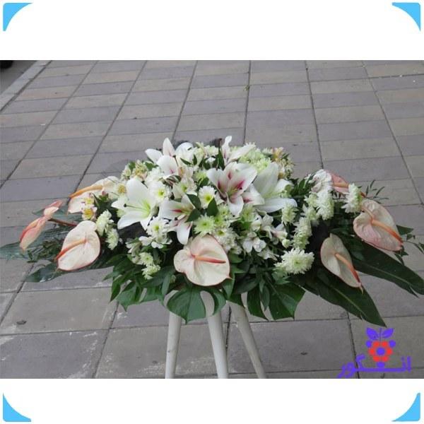 تصویر گل رومیزی ترحیم (جهت عرض تسلیت)