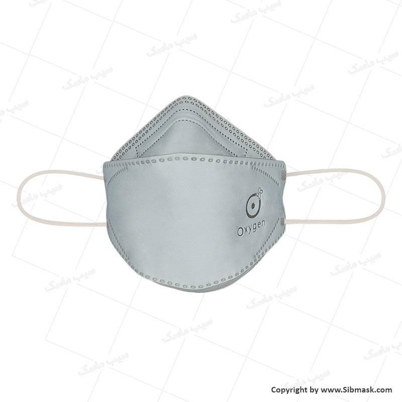 تصویر ماسک پنج لایه سه بعدی  اکسیژن (۲۵ عدد) Oxygen 3D Face Mask