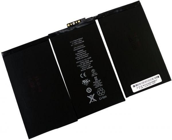تصویر باطری  Apple iPad 2 Apple iPad 2