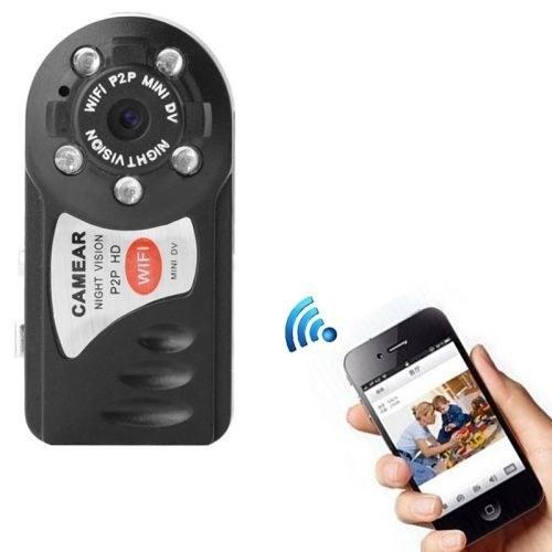 MINI DV Q7 وایفادار | Mini DV camera HD 960P WiFi P2P
