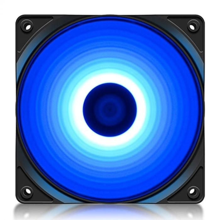main images فن کیس دیپ کول RF 120 B DeepCool RF 120 B Case Fan DP-FLED-RF120-BL