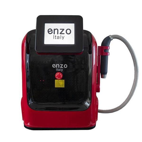 تصویر دستگاه پیکوشور (پیکوسکند) مارک انزو ایتالی با یک سال گارانتی ، برای از بین بردن خال کوبی و ملانوم های پوستی محصول 2020