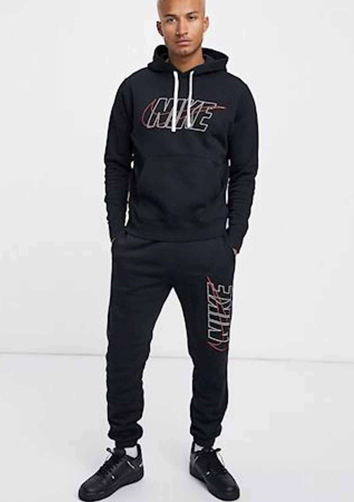 تصویر خرید انلاین ست اسلش و گرمکن مردانه ترکیه مارک Nike رنگ مشکی کد ty95594950