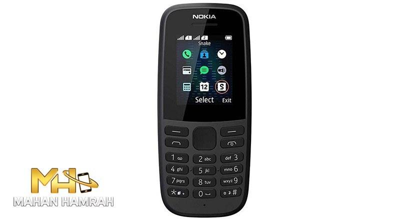تصویر گوشی موبایل نوکیا Nokia N105 2019 Nokia 105 - 2019 TA-1174 DS Dual SIM Mobile Phone