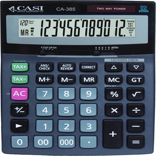 تصویر ماشین حساب کاسی مدل سی اس ۳۸۵ CASI CS-385 Calculator