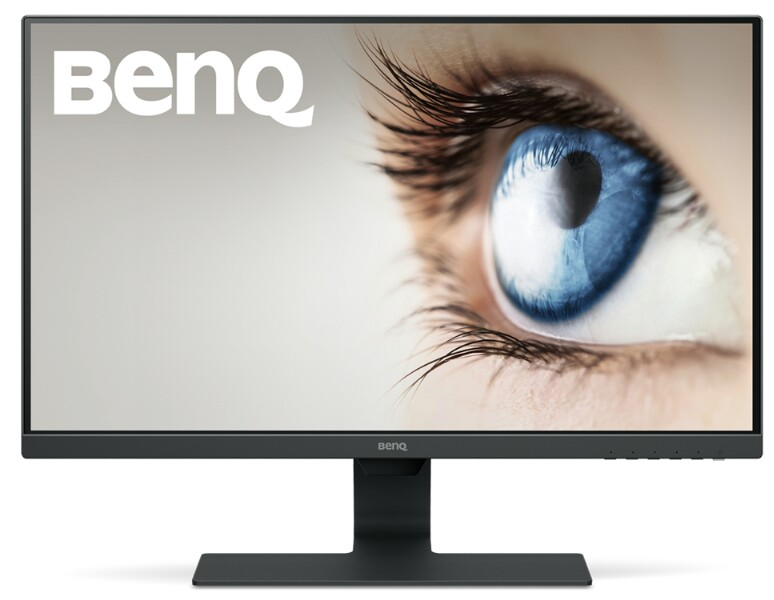 تصویر مانیتور  بنکیو مدل GW2780 سایز 27 اینچ BenQ GW2780 27 Inch FHD 1080p Eye-Care LED Monitor, 1920x1080 Display, IPS ,Brightness Intelligence, Low Blue Light, Flicker-free, Ultra Slim Bezel, Cable Management System, HDMI
