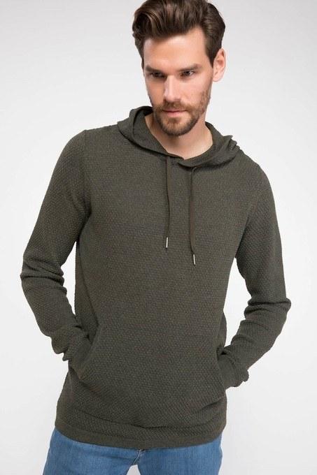 سویی شرت و هودی مردانه دیفکتو   سویی شرت و هودی دیفکتو با کد H3689AZ18WNKH294