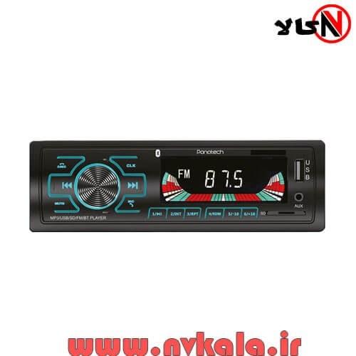 تصویر رادیوپخش پاناتک مدل P-CP201 Panatech P-CP 201 Car Audio