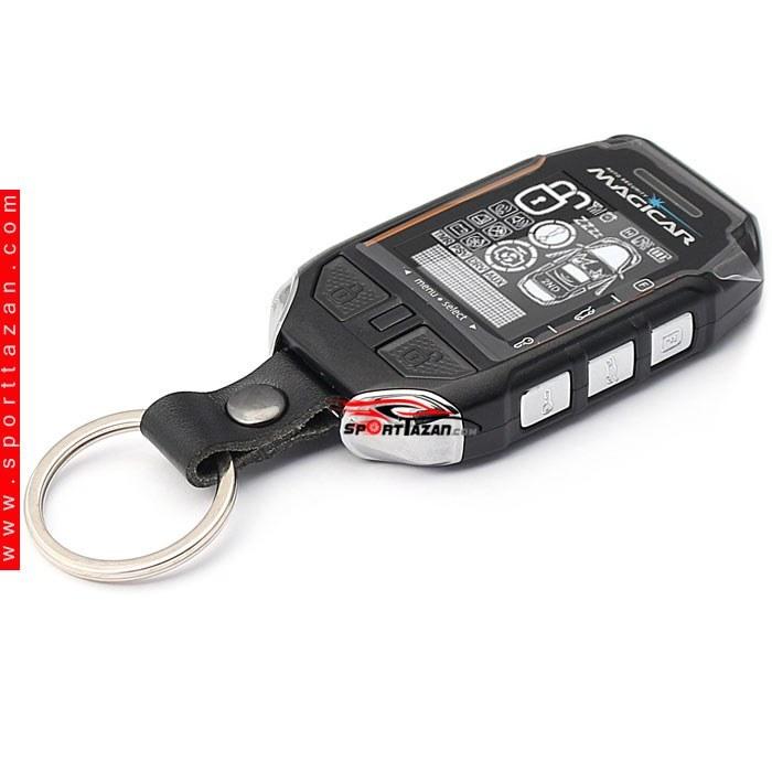 تصویر دزدگیر تصویری ماجیکار مدل i135 A Magicar Car alarm i135A