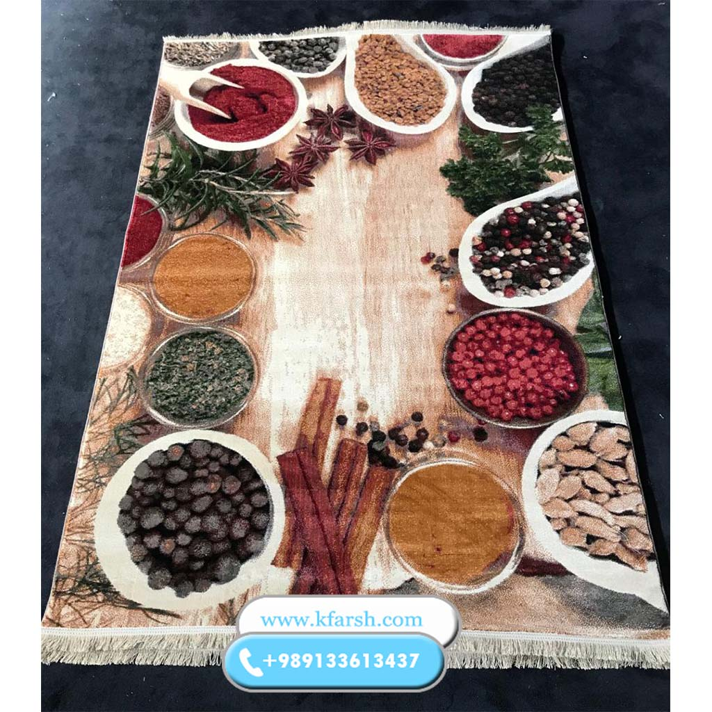 تصویر فرش آشپزخانه کد ۳۰۲