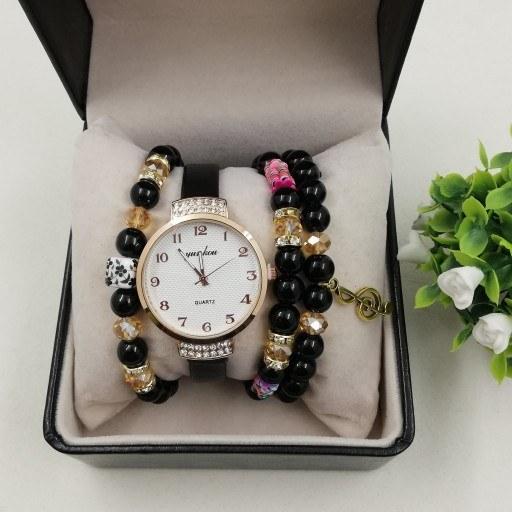 ست ساعت و دستبند دخترونه |
