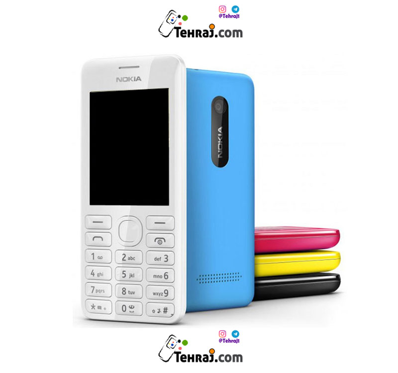 عکس گوشی موبایل دکمه ای نوکیا 206 طرح اصلی نوکیا  گوشی-موبایل-دکمه-ای-نوکیا-206-طرح-اصلی-نوکیا