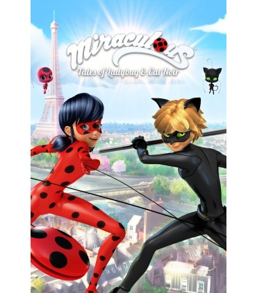 کارتون انگلیسی دختر کفشدوزکی (لیدی باگ) - Miraculous: Tales of Ladybug & Cat Noir