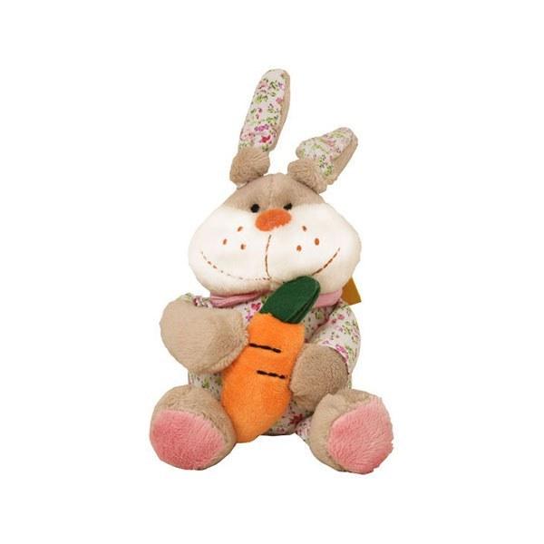 عروسک پولیشی خرگوش هویج به دست متوسط