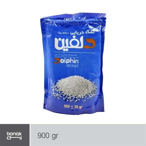 تصویر نمک دریایی دانه ریز دلفین - 900 گرمی Dolphin granulated sea salt - 900 g