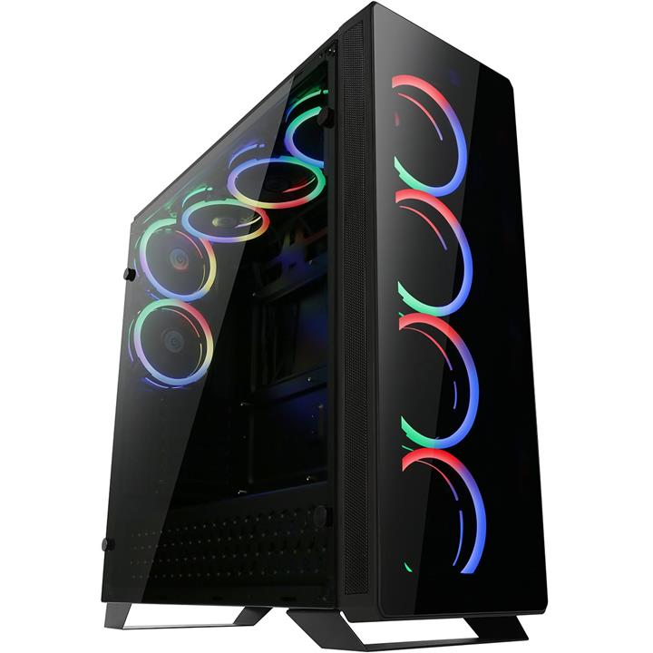 تصویر کیس کامپیوتر مستر تک مدل T500-Gaming
