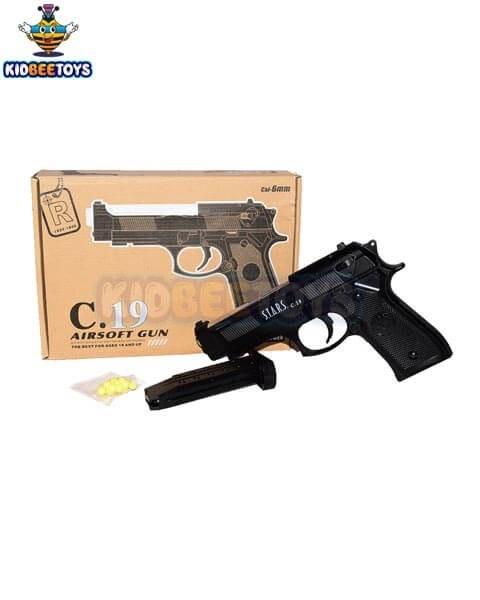 تصویر اسباب بازی تفنگ فلزی مدل C19