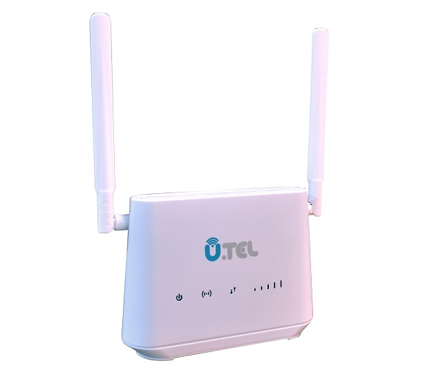 main images مودم روتر  LTE بی سیم یوتل L443 U.TEL L443 300Mbps Wireless Modem Router
