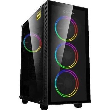تصویر کیس گیمینگ DRACO AMD RYZEN 5 3500X موجود در microless