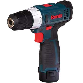 تصویر دریل پیچ گوشتی شارژی رونیکس مدل 8612 ا Ronix 8612 Cordless Drill Driver Ronix 8612 Cordless Drill Driver