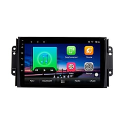image مانیتور اندروید MVM X33 نیو Car MultiMedia Android