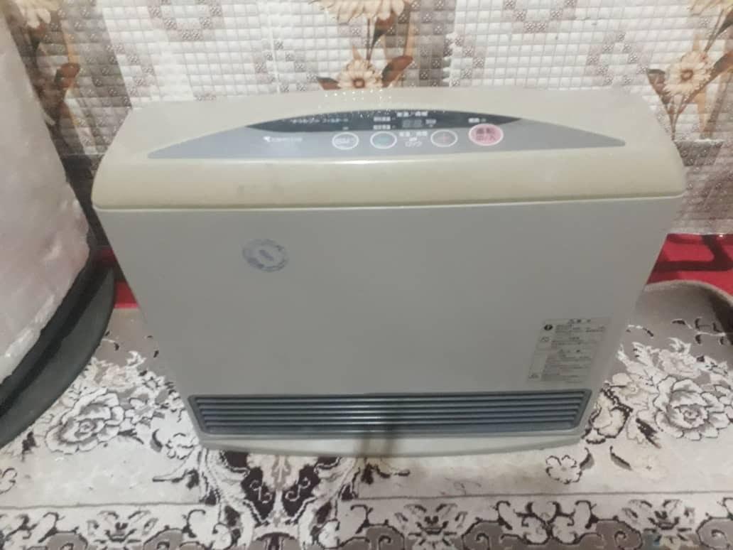 تصویر بخاری برقی گازی ژاپنی 6000